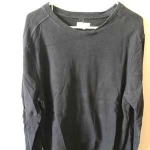 Sweatshirt, J. Crew, thick sweatshirt type materia